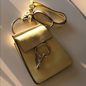 Chloé Mini Leather Faye Bracelet Bag